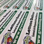 Greenling organic stickers