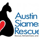 Custom Static Cling Window Stickers for Austin Siamese Rescue